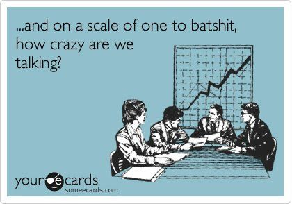 work crazy scale...