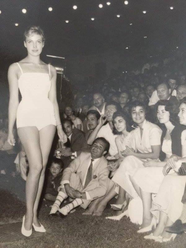 istanbulda bir güzellik yarışması 1950'ler