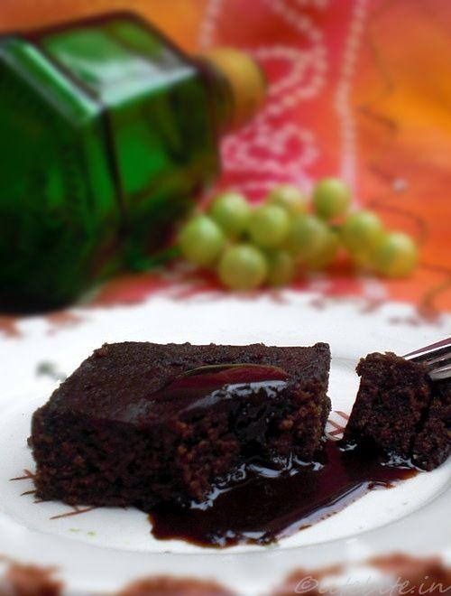 Baking | Easy Eggless Cocoa & Pearl Millet Brownies via LiteBite.com