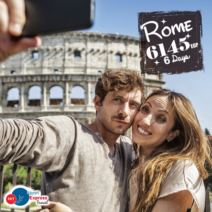 Rome - Italy (6 Days) Rate Starting from 6145 EGP. per person in double room, Including: » International flight tickets. » Accommodation with breakfast. » No Hidden Fees. » Egypt Express Travel will assist you with visa entry. For Booking: ☎ 0233057373 / 01159892358 / 01140665004 WhatsApp: 01159892358 / 01159711126 • Rates will be able to changes with availability. #Italy #Travel #Rome #Europe #Holiday
