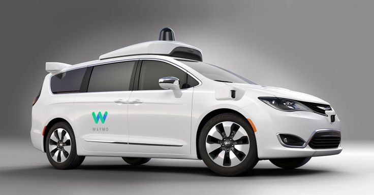 Here's our first look at Waymo's new self-driving Chrysler Pacifica minivans