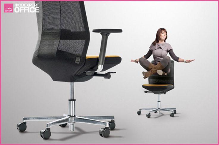 E timpul să luăm o pauză, #haveabreak. #livingatwork [INFO] Conceptul Ayo reprezintă un design care corespunde prezentului – contururi fluide, de un calm oficial, elegant şi plin de încredere. Tapiseria din plasă oferă calităţi ergonomice şi un înalt confort.