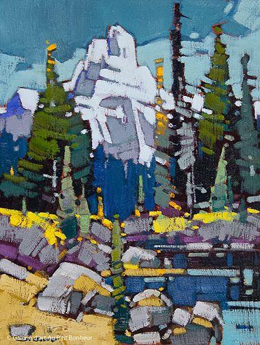 Cameron Bird, 'Cathedral Morning', 12'' x 16''   Galerie d'art - Au P'tit Bonheur - Art Gallery