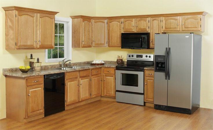 oak kitchens | oak full jpg oak drawer box oak door handle feature oak kitchen ...