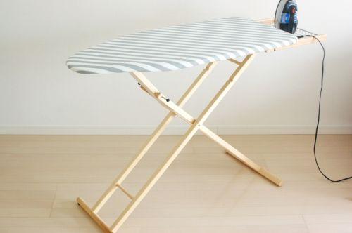 イタリア/ARIS社/木製のアイロン台