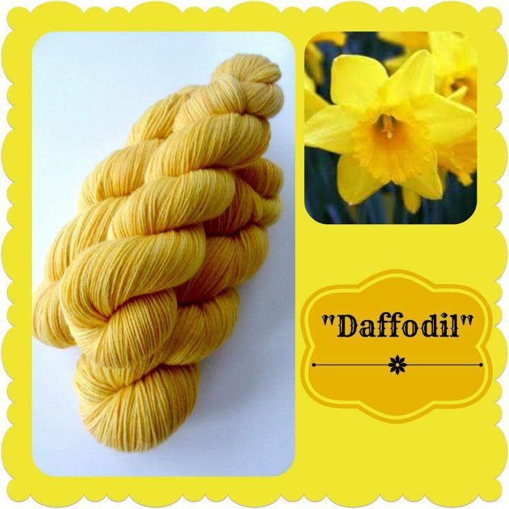 Daffodil - Dutch Flowers   Red Riding Hood Yarns