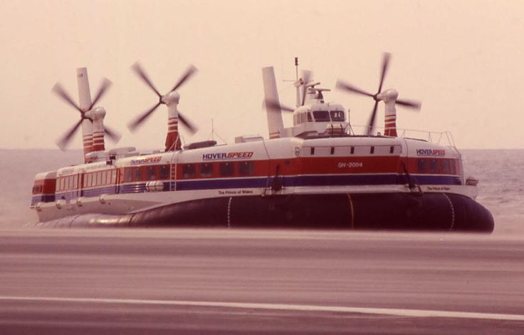 Ferry Fantastic: S. R. N. 4 'Mountbatten Class' Hovercraft