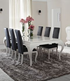 22 Best White High Gloss Addiction Images On Pinterest  High Unique White Gloss Dining Room Table Decorating Design