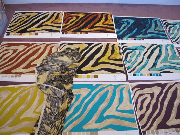 zebra: Crafts Ideas, Prints Resorts, Interiors Design, Design Fashion, Colors Zebras, Animal Prints, Kelly Wearstler, Aa Patterns, Inspiration Design