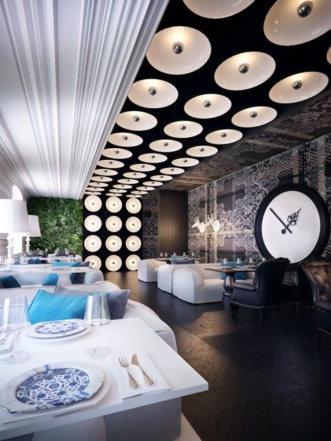 Фото — Ресторан Р — Дизайн интерьеров = Photo - Restaurant R - Design Interior