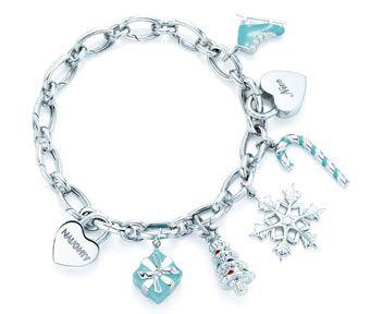 Tiffany charms bracelet <3