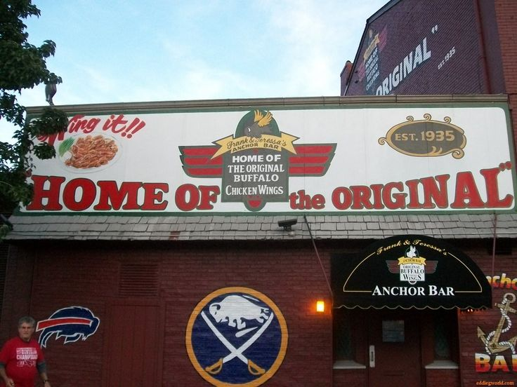 Anchor Bar - Home of the original #Buffalo Chicken Wings. Menu: Mild, Medium, Hot, Spicy Hot BBQ, or SUICIDAL if you dare!