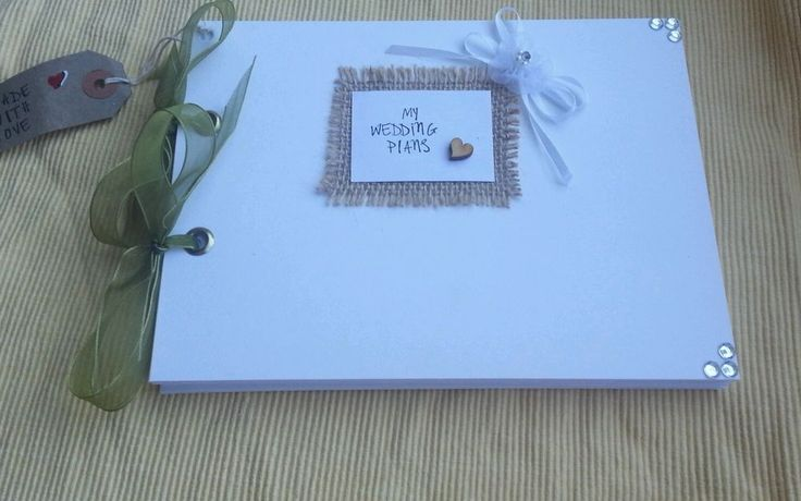 SHABBY CHIC PHOTO ALBUM WEDDING PLANNER SCRAPBOOK NOTEBOOK JOURNAL MEMORY BOOK in Home, Furniture & DIY | eBay