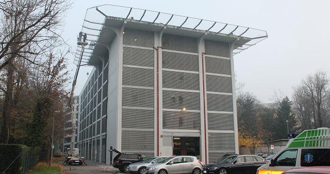 Verifica statica di una mensola porta rete anticaduta, Eliporto Padova
