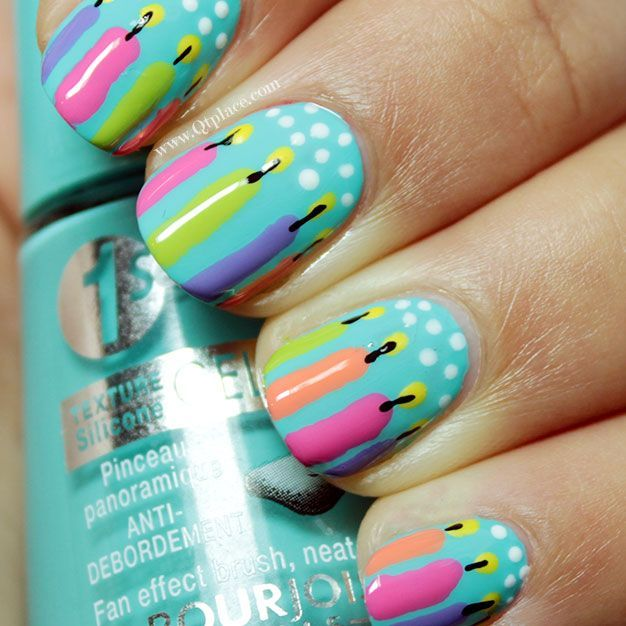 1000+ Ideas About Birthday Nail Designs On Pinterest