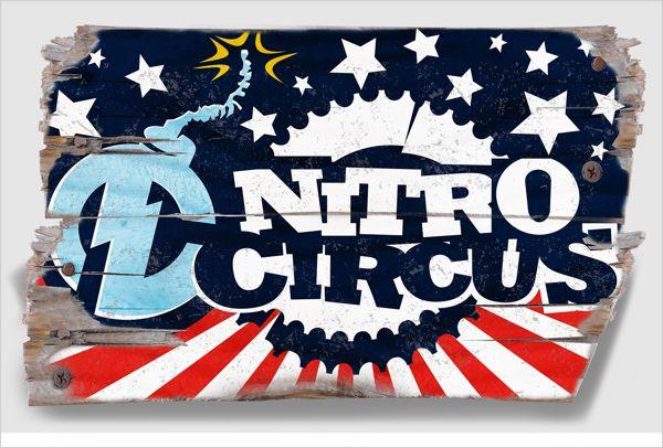 Nitro Circus by BASIC , via Behance