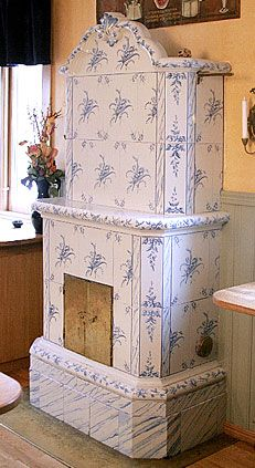 I adore Swedish tile stoves, would love to have one someday