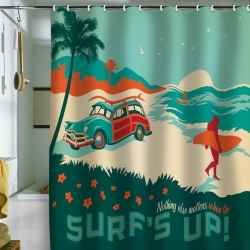 Looking to mellow out your bathroom? Want something hip & stylish with a surfer theme? These uber cool bath accessories will turn your boring...