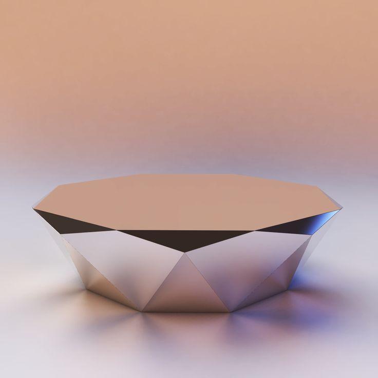 Schön 3D Bretz Stealth Coffee Table Model   3D Model