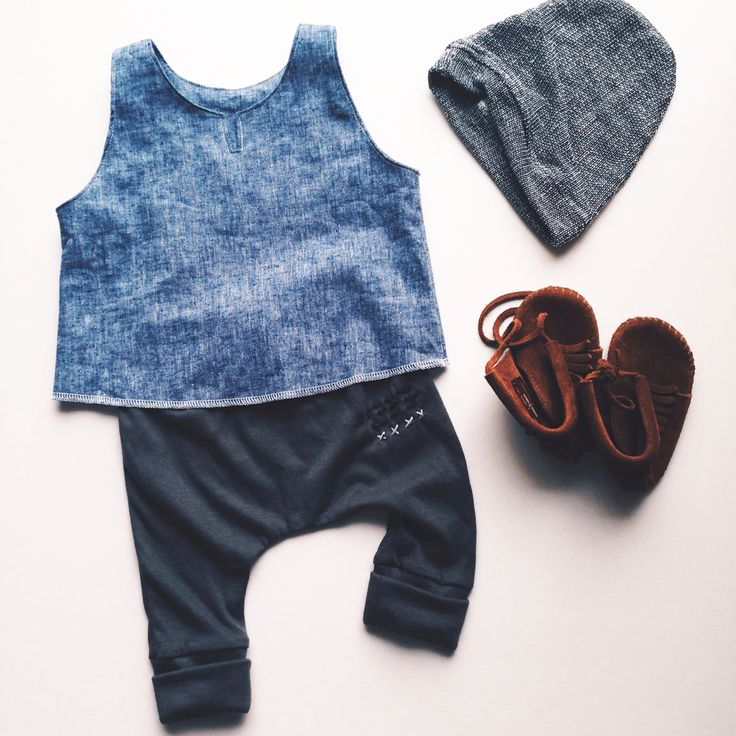 Archer harems + Venice tank | carlymegan | kids style, kids fashion, children's clothing, made in la