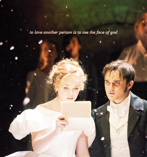 Les Miserables epilogue. LOVE Katie Hall and Gareth Gates and the rest of the 25th Anniversary touring cast!