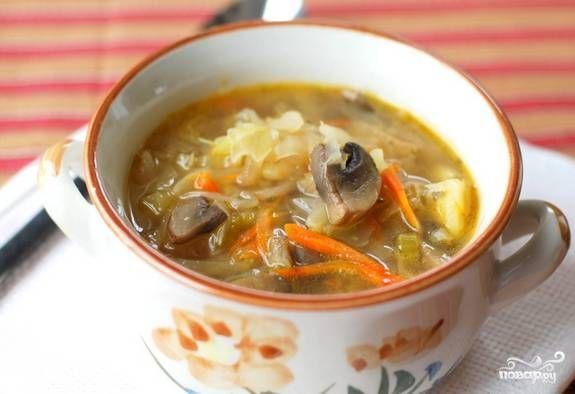 Постный суп с гречкой - пошаговый рецепт с фото на Повар.ру