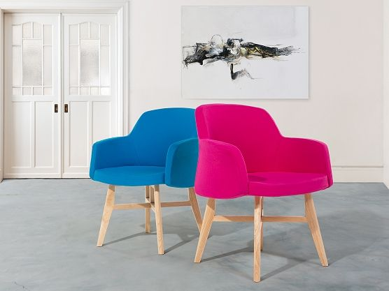 You may find armchair YSTAD in any colour of a rainbow. It is a modern, solid club chair perfect for modern apartments. Check Beliani UK for more design inspirations www.beliani.co.uk! #Beliani #moderninteriorsdesign #livingroomideas #chair #bluechair #pinkchair