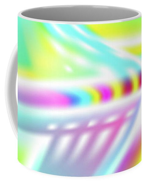 Ufo Coffee Mug featuring the digital art UFO by Ron Labryzz