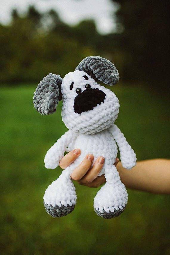 Pdf Crochet Pattern German Dog Elvis Häkeln Crochet Crochet