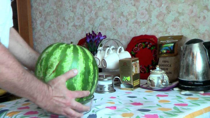 100 % способ проверки арбуза на спелость