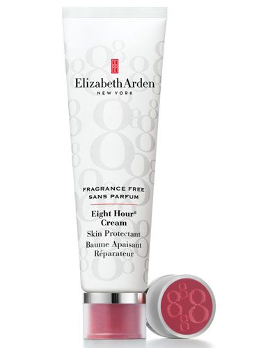 Elizabeth Arden 8 hour cream - a handbag essential since 2007. A tub lasts for over a year. Only lip balm worth mentioning