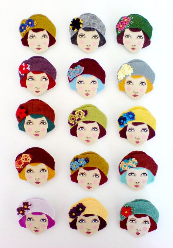 Love these brooches!!!