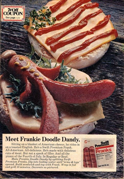"""Frankie Doodle Dandy"" - I think I am going to have to devote a board to vintage meats."