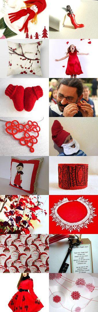 Santa by Melinda on Etsy--Pinned with TreasuryPin.com