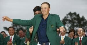 Jordan Spieth's biggest prize for winning the Masters – telling his sister he won - Yahoo Sports