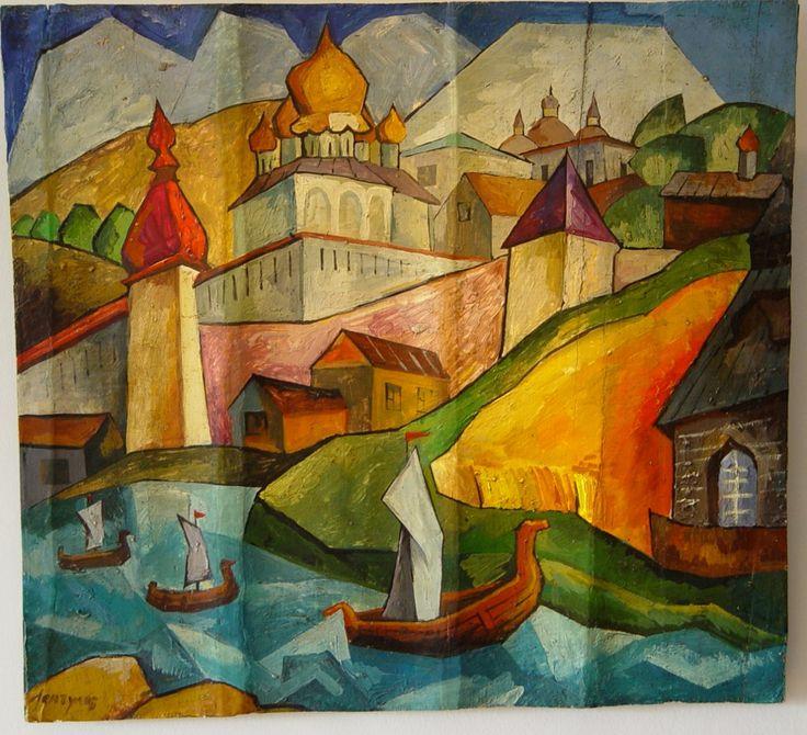 Aristarkh Lentulov (Russian, 1882-1943) - Provenance
