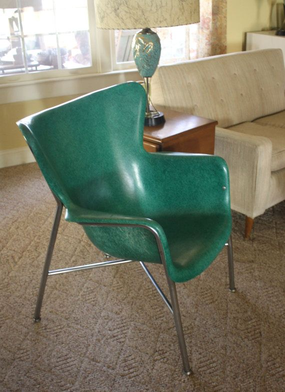 1950s Mid Century Aqua Blue Comfy Chair By Gremlina On Etsy, $250.00 |  Furniture I Love | Pinterest | Aqua Blue And Mid Century