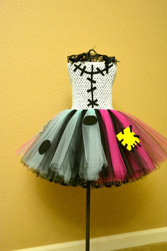 Sally inspired Nightmare Before Christmas Tutu by ClickandBloom