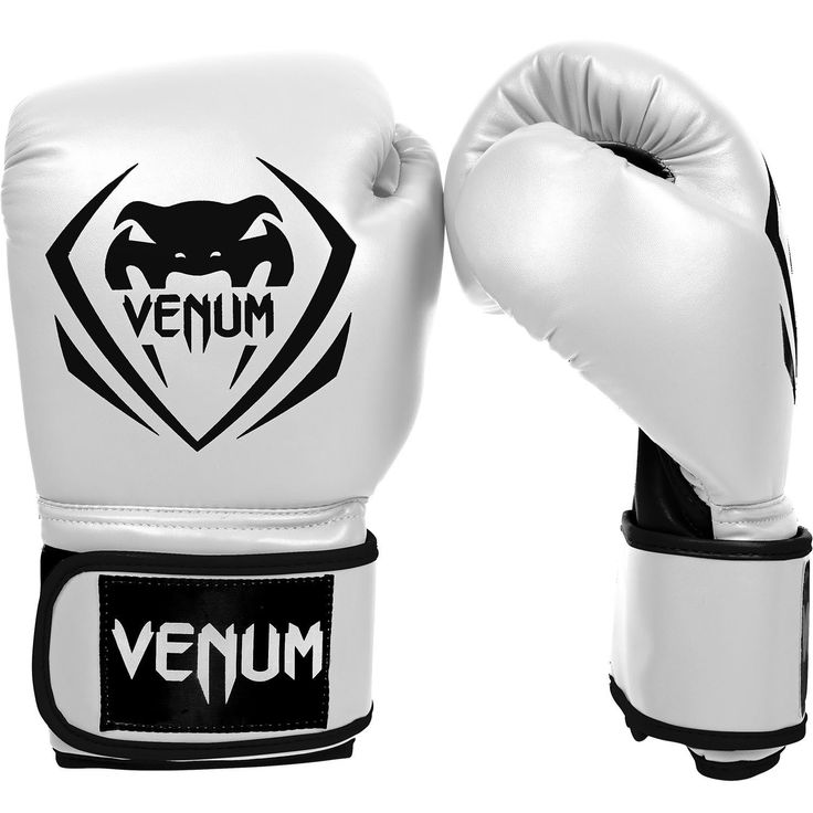 Venum Contender Boxing Gloves - White