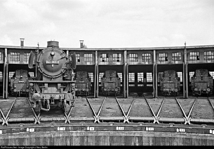 RailPictures.Net Photo: 042 363 Deutsche Bundesbahn Steam 2-8-2 at Rheine, Germany by J Neu, Berlin