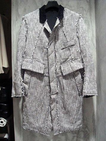 takahiromiyashita the soloist. deconstructed coat