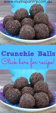 Crunchie Tim Tam Cheesecake balls