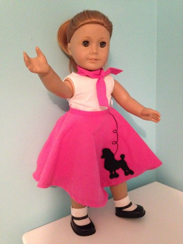 American Girl Poodle Skirt