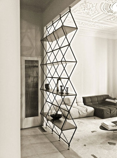 Think Outside the Box: Seriously Innovative Shelving (via Apartment Therapy)