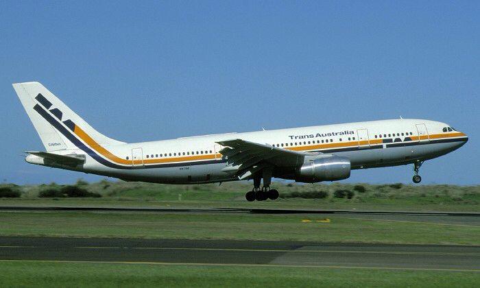 Trans Australia Airlines Airbus A300B4-203 (VH-TAE)
