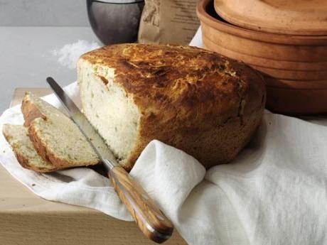 Lantbröd i lergryta Receptbild - Allt om Mat