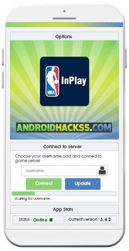 Use NBA InPlay Hack to get unlimited resources, upgrade your levels and become the best player in NBA InPlay. 		 The  NBA InPlay Hack APK is easy to use, you just need to download the NBAInPlay_hack.apk file and start generating resources and more for your game.  Love watching NBA basketball on...