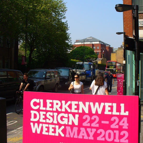 Sunshine at Clerkenwell Design Week