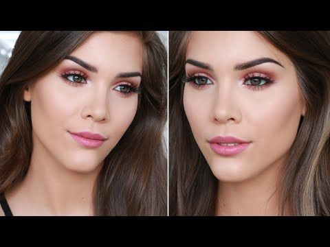 DATE NIGHT GLAM MAKEUP TUTORIAL for Valentines Day!   ft. Zoeva Cocoa Blend Palette - YouTube   Katerina Beauty Blog