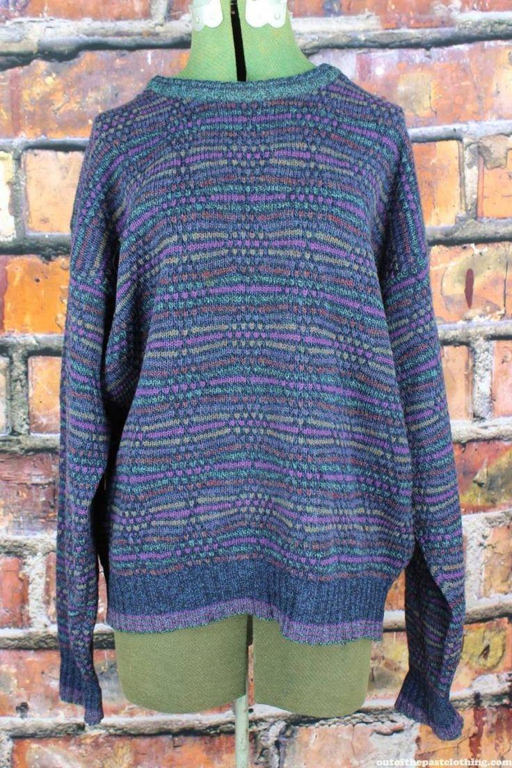 Alexander Julian Colours Vintage 1980s Sweater